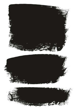 Paint Brush Medium Background Mix High Detail Abstract Vector Background Set 140