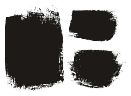 Paint Brush Medium Background Mix High Detail Abstract Vector Background Set 41 Illustration