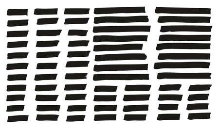 Tagging Marker Medium Lines High Detail Abstract Vector Background Mix Set 155 Ilustração
