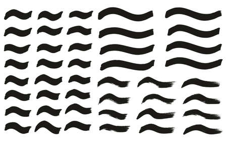 Tagging Marker Medium Wavy Lines High Detail Abstract Vector Background Çizim