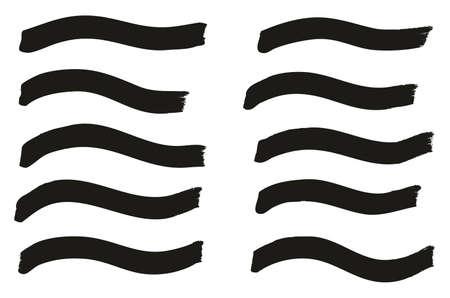 Tagging Marker Medium Wavy Lines High Detail Abstract Vector Background Illusztráció