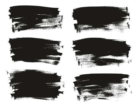 Calligraphy Paint Thin Brush Background Long High Detail Abstract Vector Background Set 94