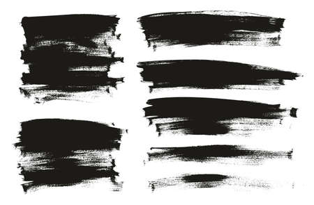 Calligraphy Paint Thin Brush Background Long High Detail Abstract Vector Background