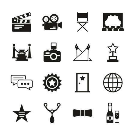 Hollywood Icons Black & White Set