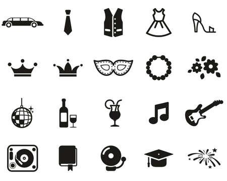 Prom Night Icons Black & White Set Big