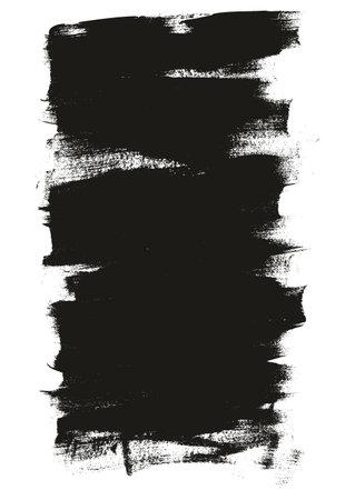 Calligraphy Paint Wide Brush Background Long High Detail Abstract Vector Background Set 01 Ilustração Vetorial