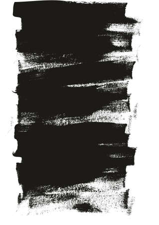 Calligraphy Paint Wide Brush Background Long High Detail Abstract Vector Background Vettoriali