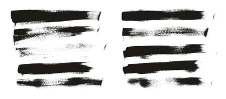 Calligraphy Paint Wide Brush Background Long High Detail Abstract Vector Background