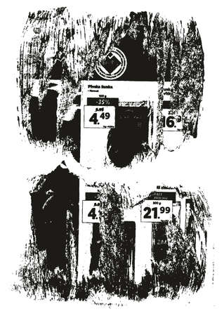 Ripped & Torn Paper Background Grunge Punk Style High Detail Abstract Vector Background Set Ilustração Vetorial
