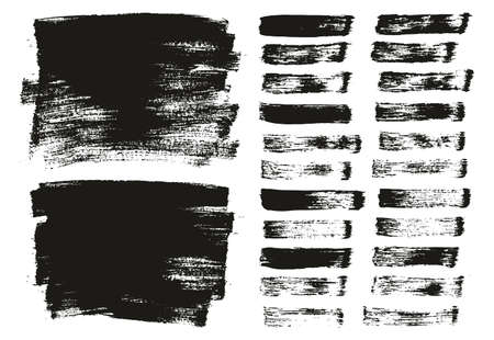 Flat Paint Brush Thin Long Background & Straight Lines Mix High Detail Abstract Vector Background Mix Set 向量圖像