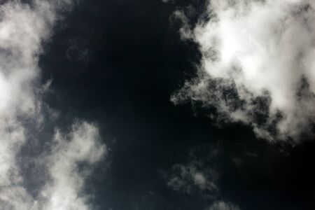 Stormy dark sky with clouds boost trip fifty megapixels fine art Imagens - 128605545