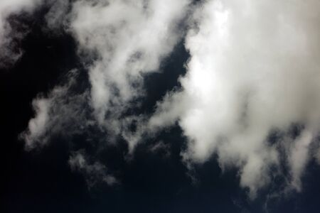 Stormy dark sky with clouds boost trip fifty megapixels fine art Imagens - 128605781