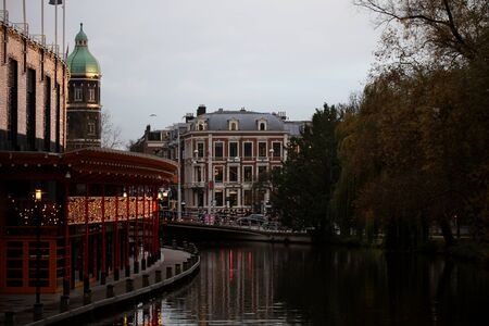 Amsterdam center architecture backgrounds high quality
