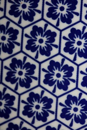 Blue and white flowers pattern macro background fifty megapixels 版權商用圖片