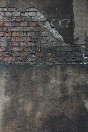 Old wall with bricks vintage background high quality print Stok Fotoğraf
