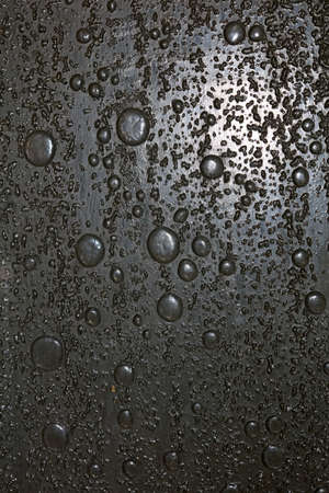 Plastic toilet glass surface with water droplets macro background fine modern art high quality prints products fifty megapixels