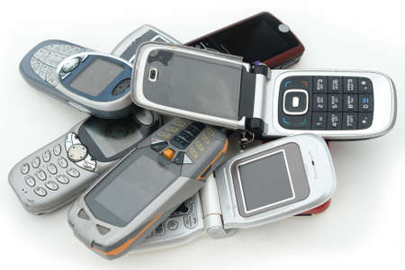 cell phone: used old GSM Cell phones