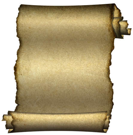 papyrus: Manuscript, aged scroll grunge paper background