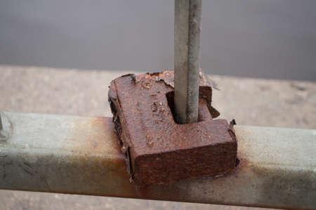 lock: Rusty lock