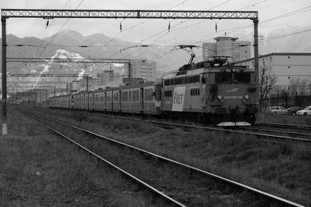 brasov: Brasov in Black and White Editorial