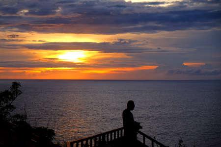 ubud: Bali Sunset