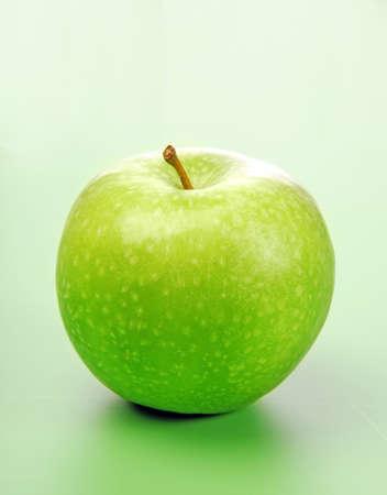 manzana verde: Apple greem fresca