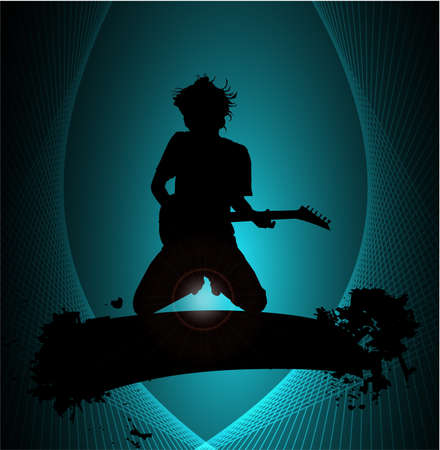 Guiterist Stock Vector - 9187926
