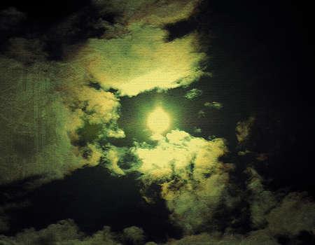 texturized: Old texturized sky background