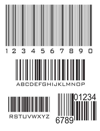Bar code, vector