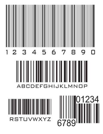 Code à barres, vecteur