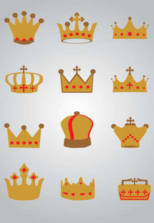 Crown set