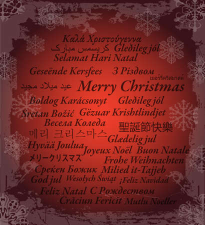 Merry Christmas in thirty-one language