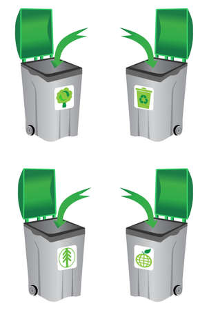 recycle bin Stock Vector - 9433247