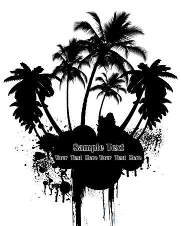 non    urban scene: Palm tree