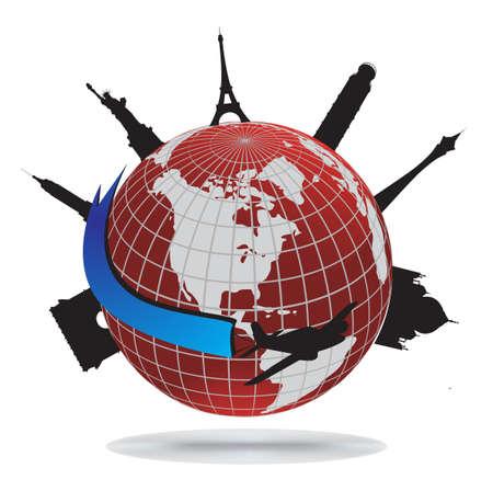 telecomunicaci�n: Puntos de referencia mundial, vector