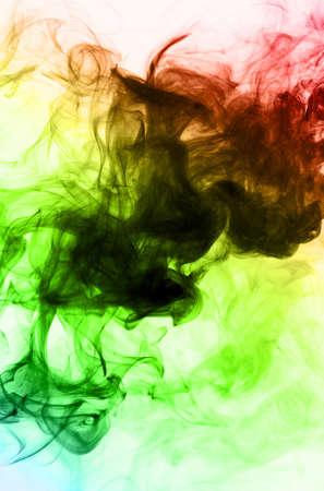 Colorfull smoke photo