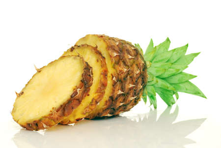 Pineapple in white background