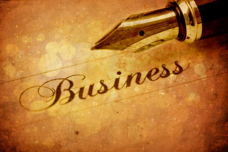 pad and pen: Business background