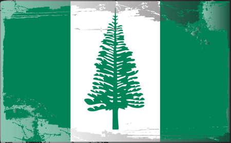 Grunge flag series: Norfolk Island Stock Vector - 10024735