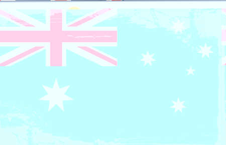 tattered: Grunge flag series: Australia Illustration