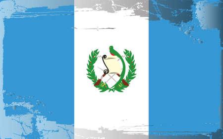 Grunge flag series: Guatemala Stock Vector - 10479974