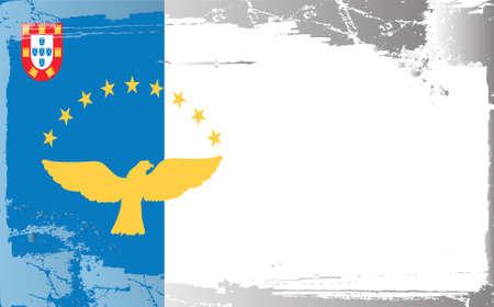 cape verde: Grunge flag series: Cape Verde