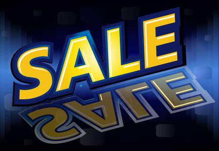 Sale design, vector illustration Stock Vector - 10480019