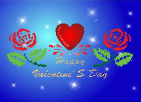 pixelate: Pixel-ate Valentine s Day design