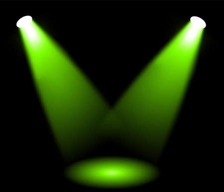 Stage lights Illustration