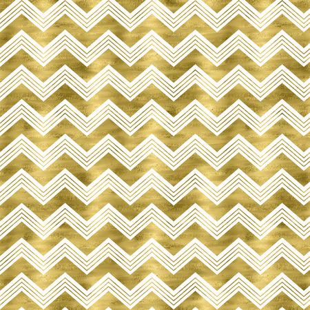 Gold foil chevron pattern