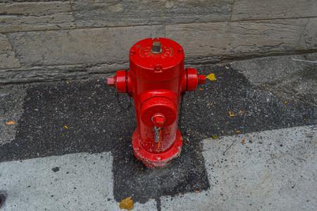 borne fontaine: Bouche d'incendie, Montr�al, Canada