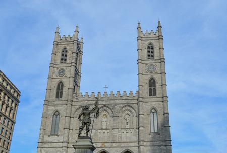 old port: Maisonneuve statue Montreals Old Port district