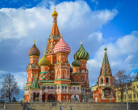 st  basil: Cathedral of St. Basil Moscow downtown