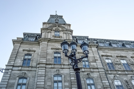 quebec: Quebec parliament in Quebec city Editorial